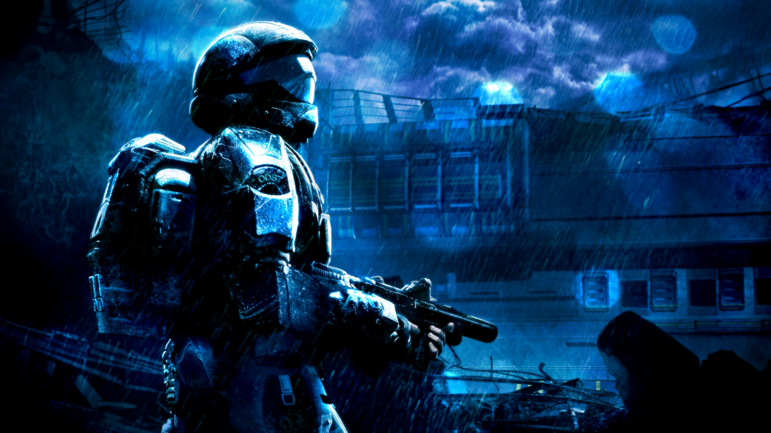 14 halo 3: odst hd wallpapers | background images - wallpaper abyss
