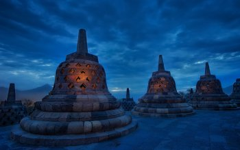 Religioso - Borobudur Wallpapers and Backgrounds ID : 423039