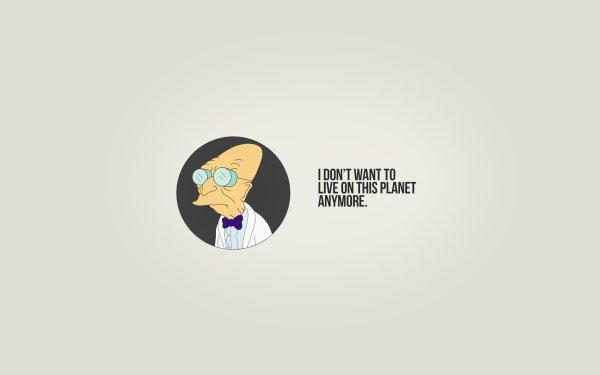 TV Show Futurama Professor Farnsworth HD Wallpaper | Background Image