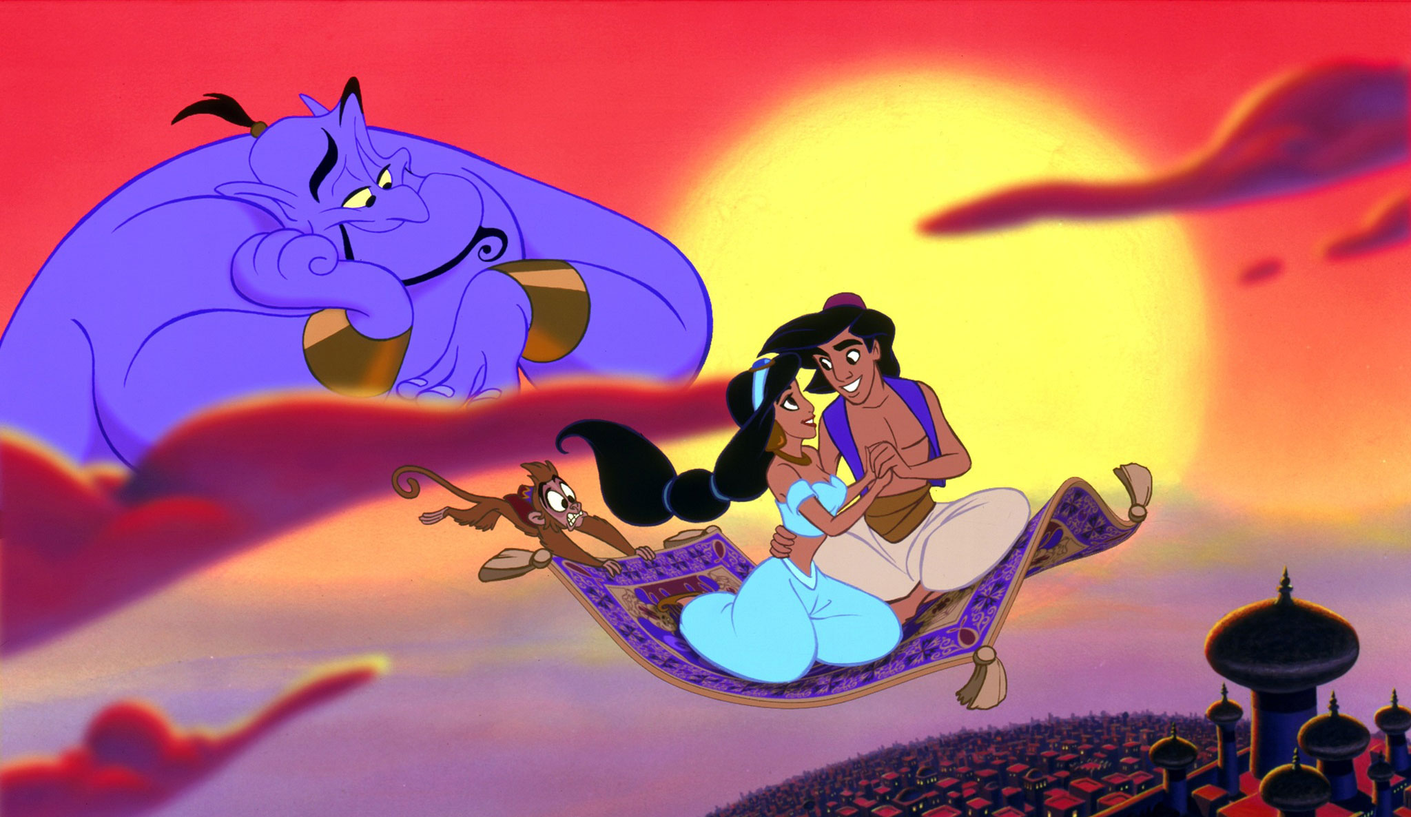 Aladdin Full HD Wallpaper and Background Image | 2048x1186 ...