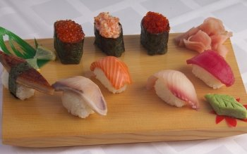 Alimento - Sushi Wallpapers and Backgrounds ID : 424008
