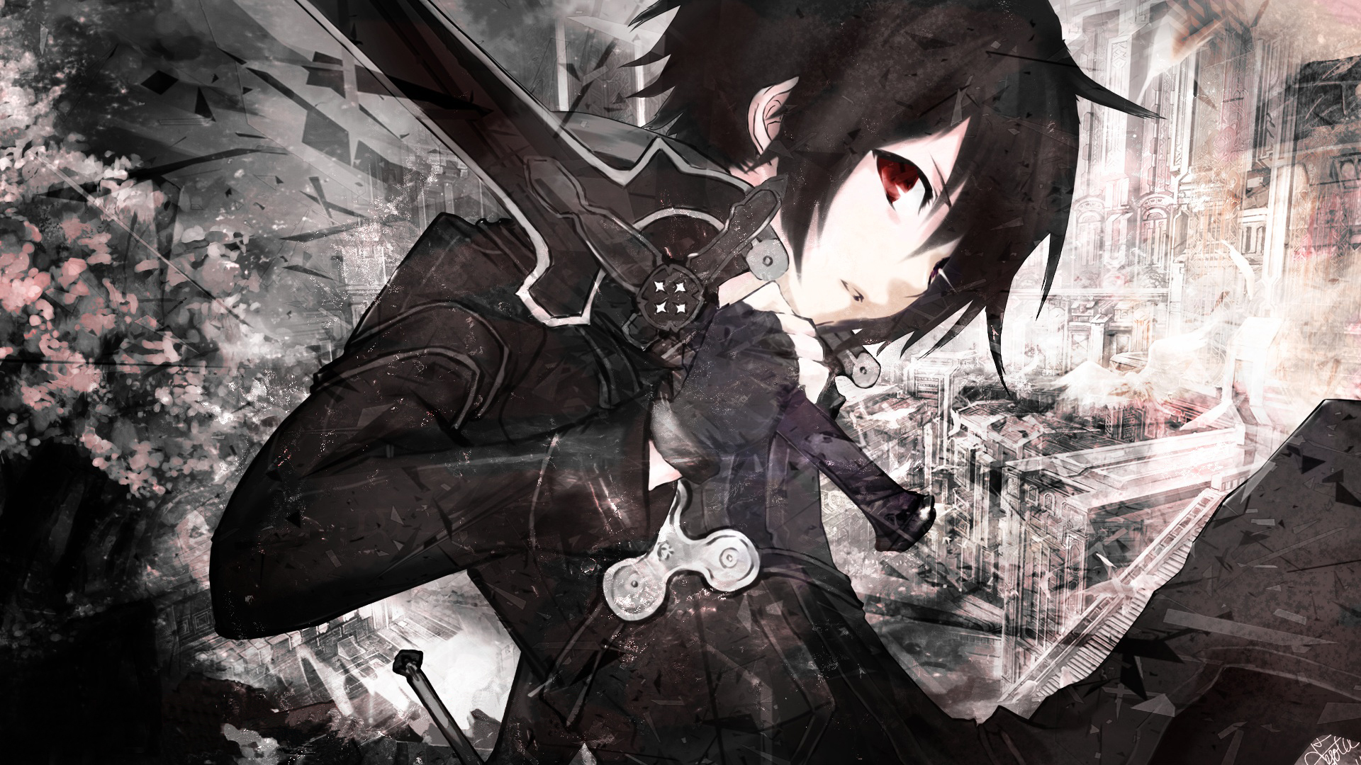 kirito blacksword Full HD Wallpaper and Background ...