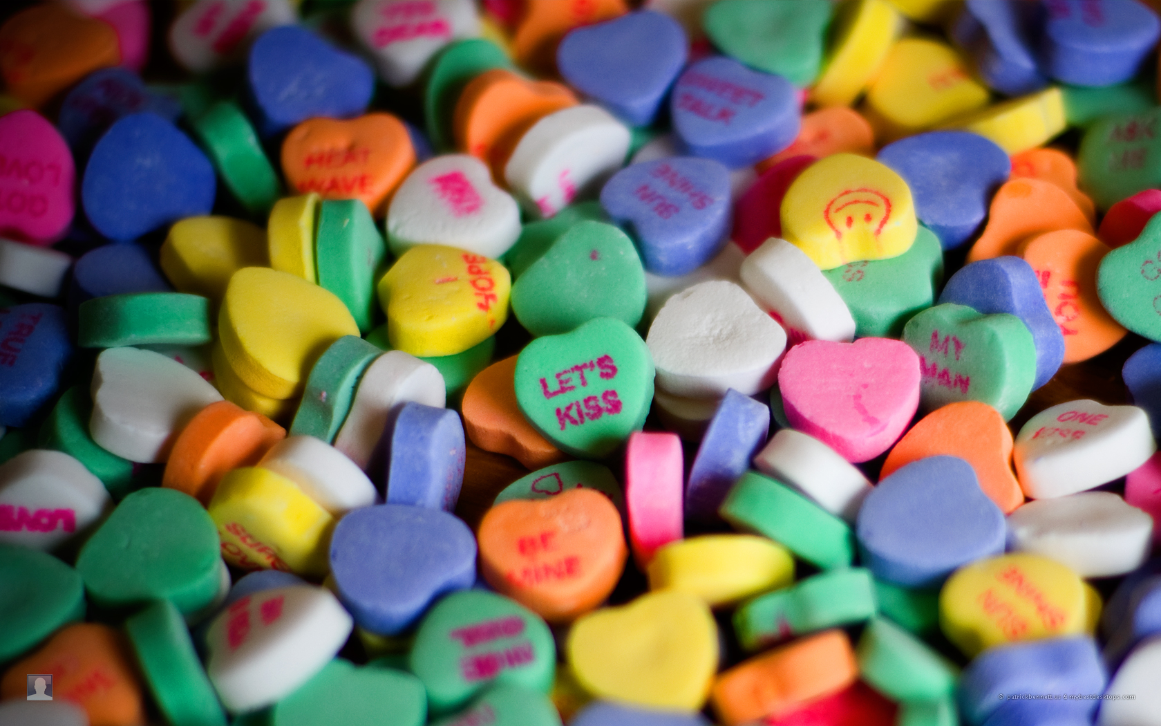 heart candy Wallpaper and Background Image | 1680x1050 ...