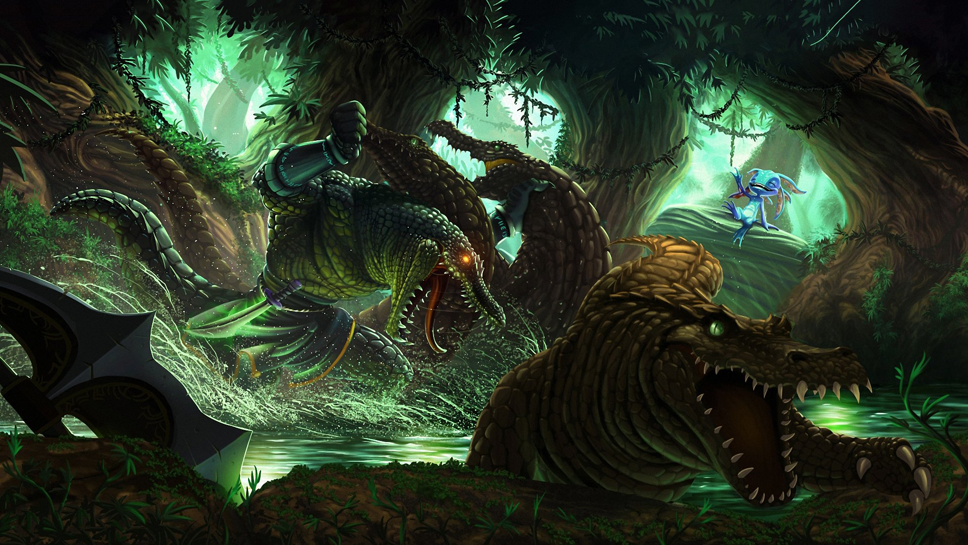 33 Renekton League Of Legends Hd Wallpapers Background