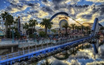 Man Made - Amusement Park Wallpapers and Backgrounds ID : 428190