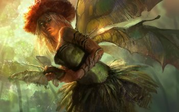 Fantasy - Fairy Wallpapers and Backgrounds ID : 428705