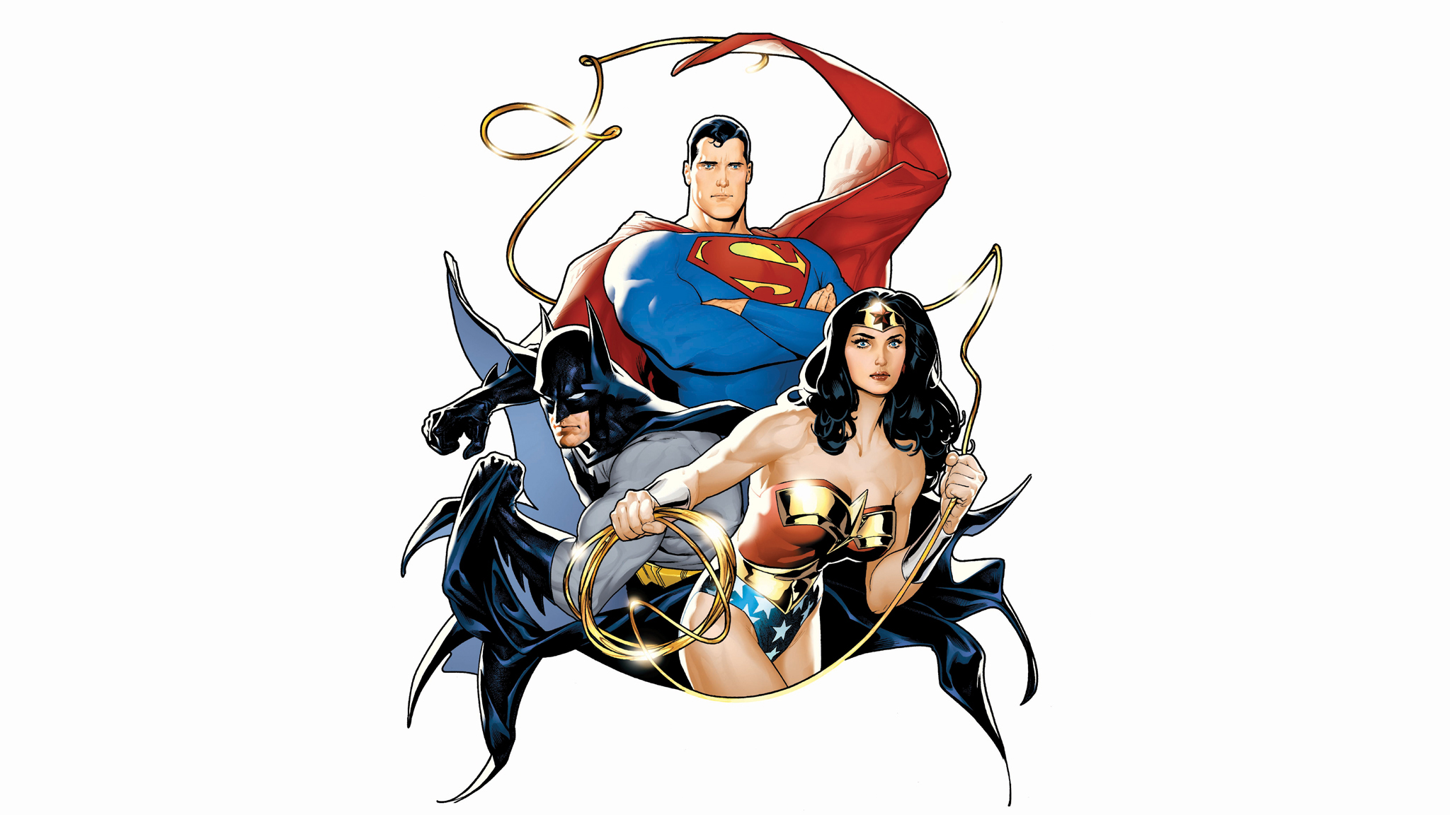 Comics - Justice League - Batman - Superman - Wonder Woman Wallpaper