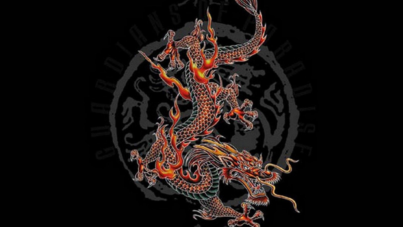 Chinese Dragon Wallpaper And Background Image