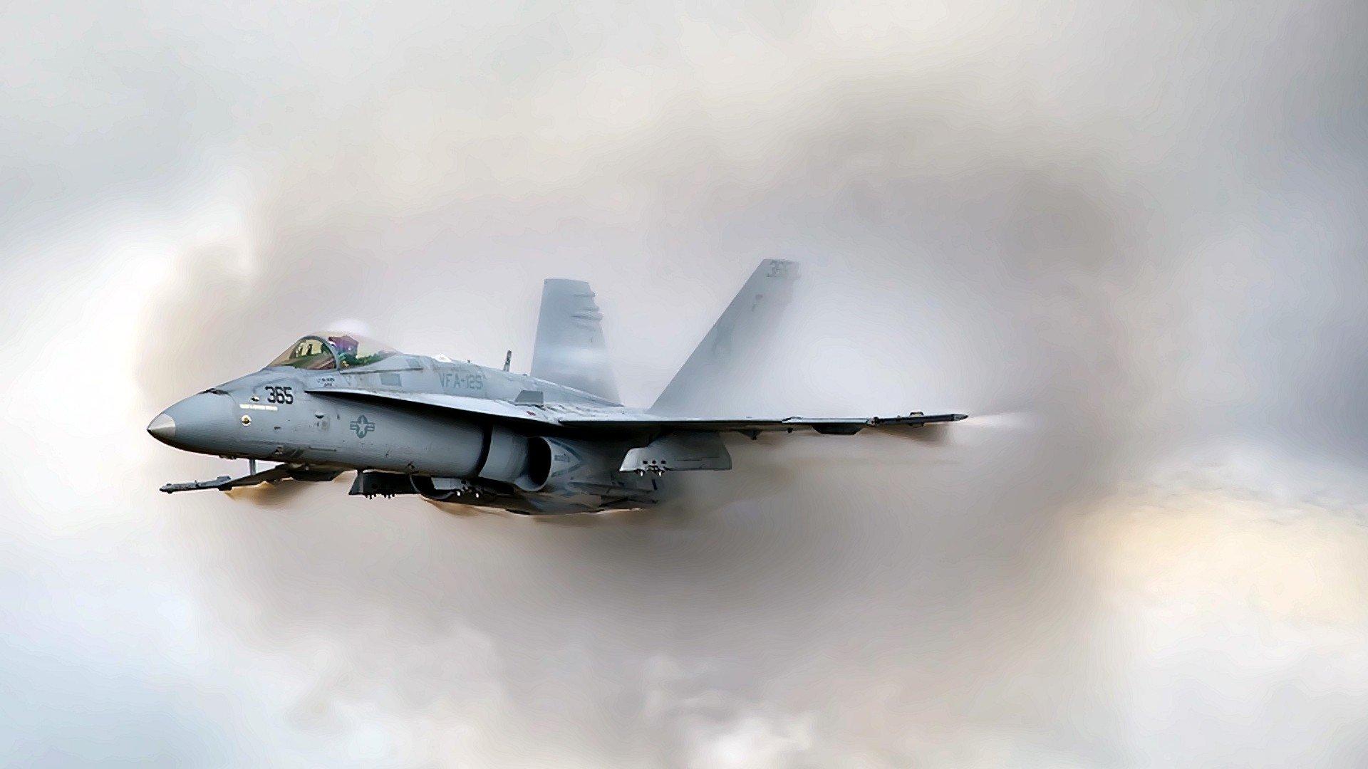 Military - McDonnell Douglas F/A-18 Hornet  Wallpaper