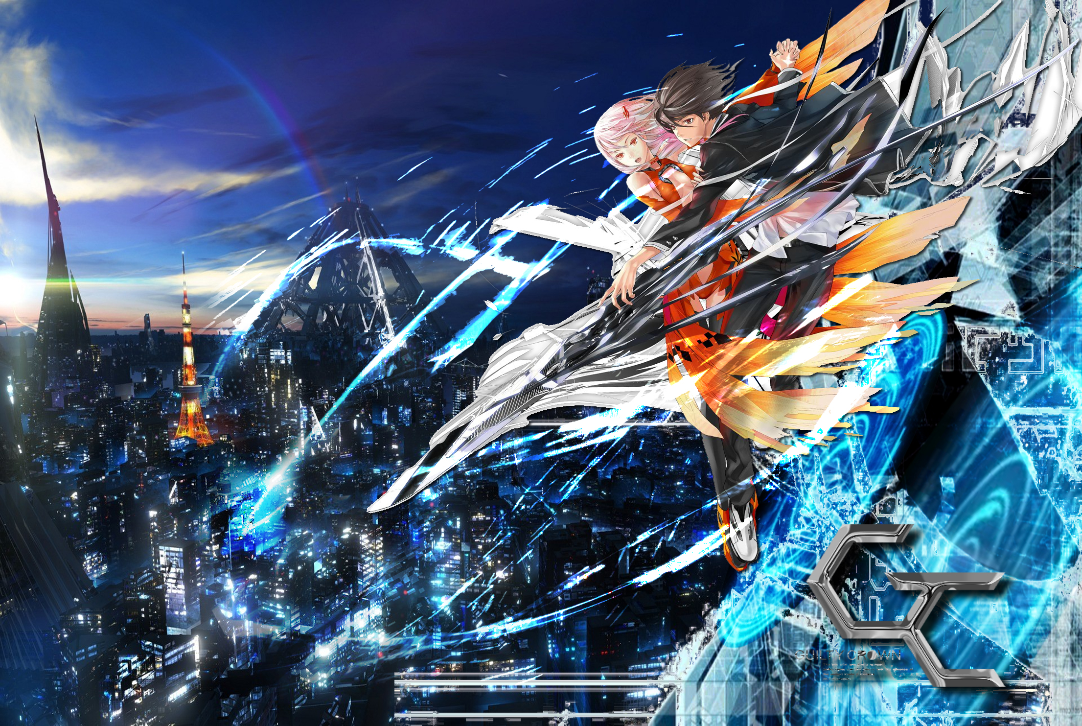 Anime guilty crown full hd wallpaper and background - Anime wallpaper full hd ...
