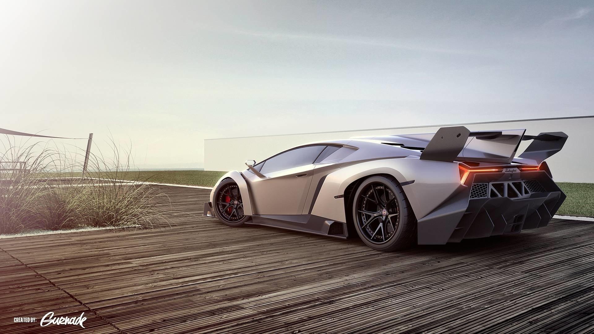 Lamborghini Veneno Full HD Wallpaper And Background Image