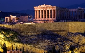 Man Made - Acropolis Of Athens Wallpapers and Backgrounds ID : 431388