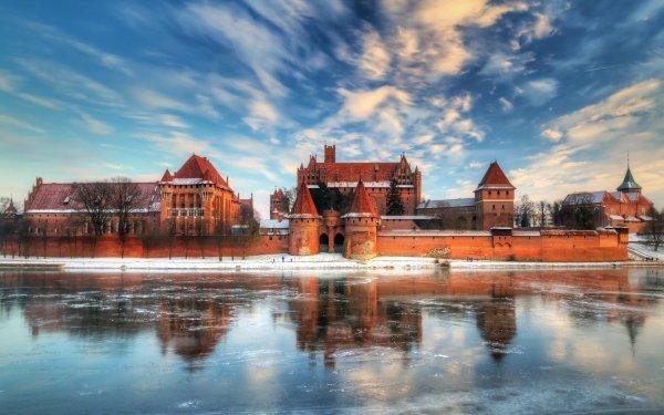 Man Made Malbork Castle Castles Poland HD Wallpaper   Background Image