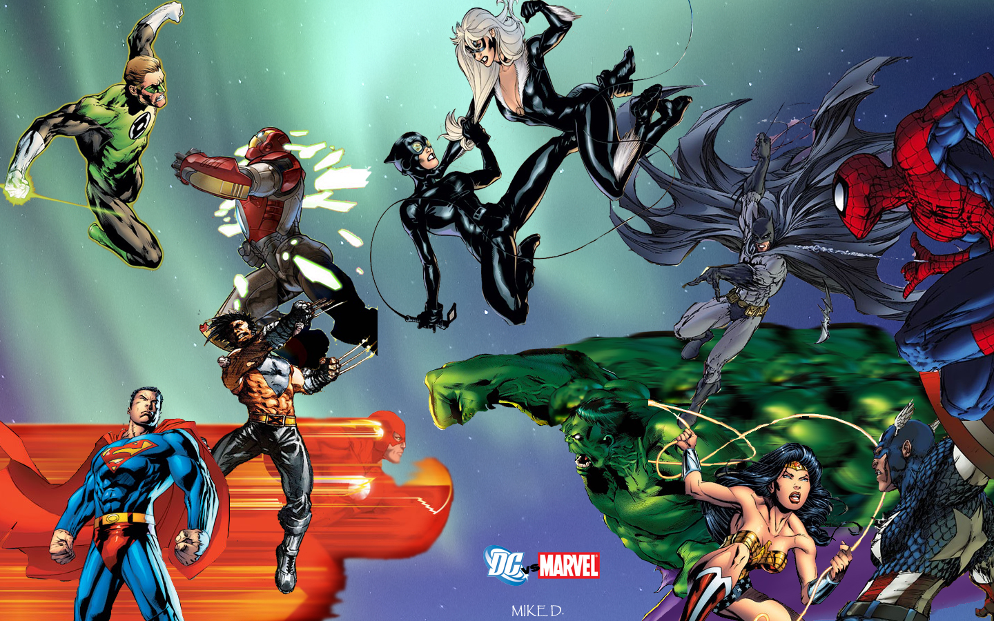 Dc vs marvel wallpaper and background image 1440x900 id 434702 wallpaper abyss - Marvel and dc wallpapers ...