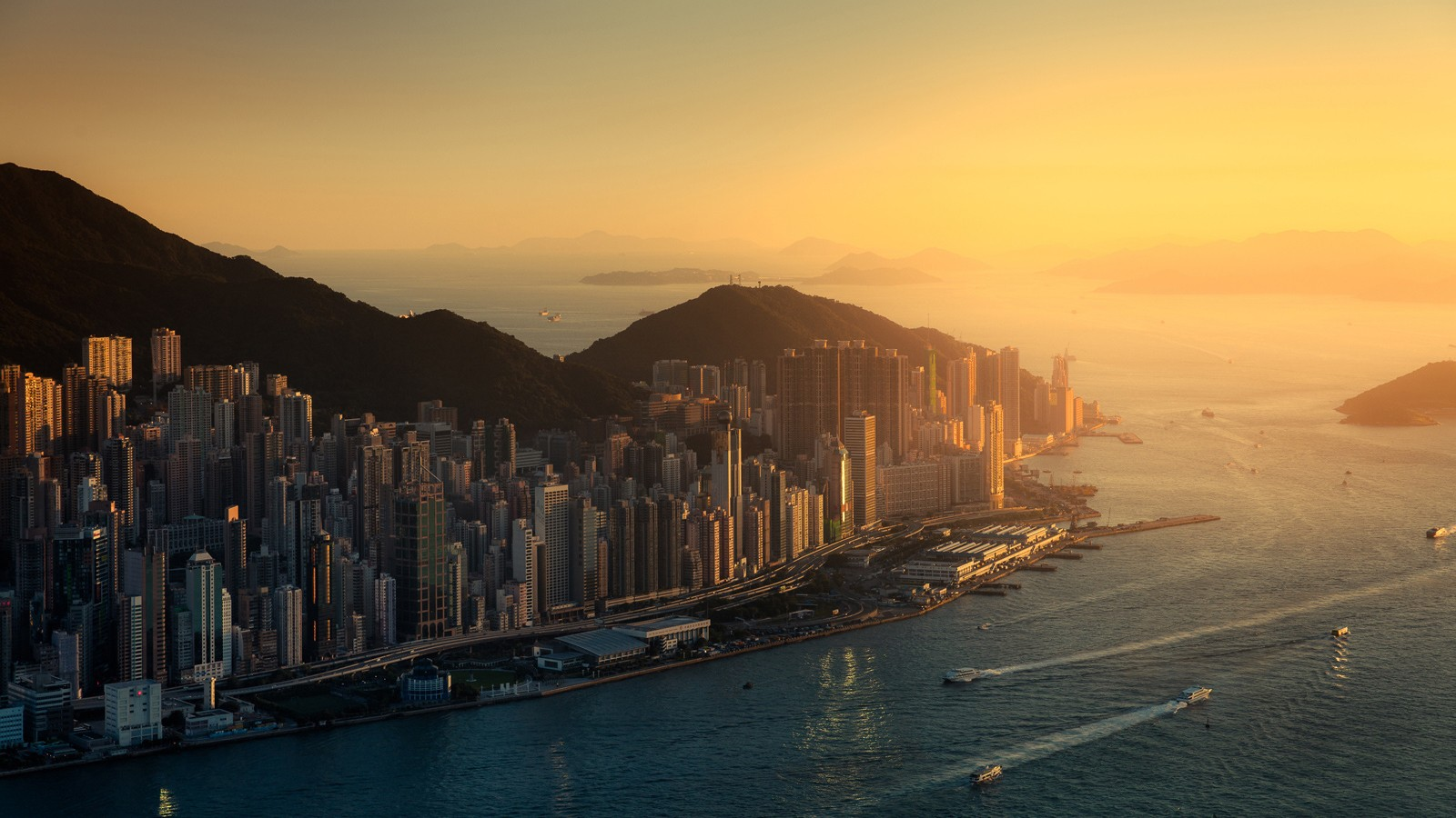 hong kong wallpaper and background image | 1600x900 | id:434782