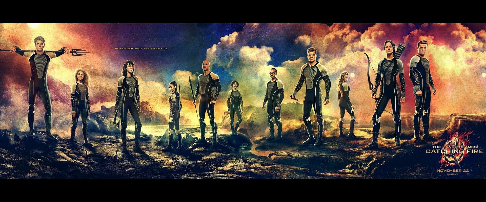 the hunger games catching fire wallpaper and background