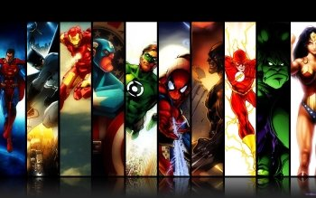 Comics - Collage  Wallpapers and Backgrounds ID : 434074