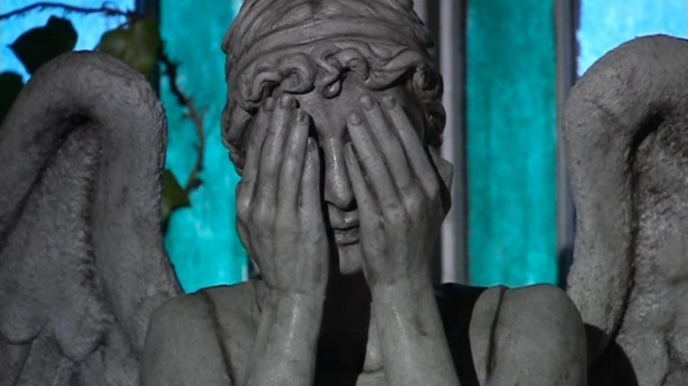 weeping angels computer wallpapers desktop backgrounds