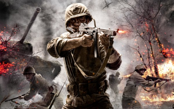 Video Game Call Of Duty 3 Call of Duty Call Of Duty HD Wallpaper   Background Image
