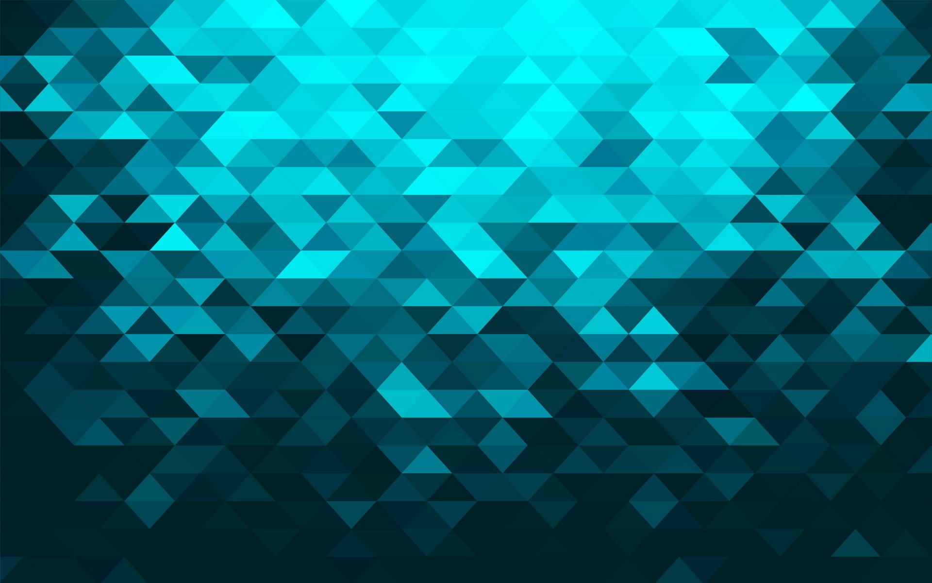 Pattern - Turquoise  Shapes Geometry Wallpaper