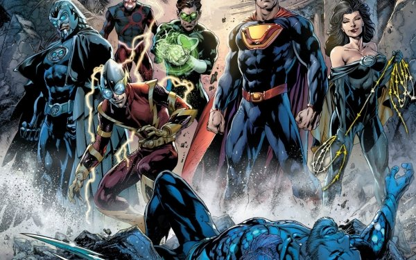 Comics Crime Syndicate Of America Power Ring Ultraman Superwoman Owlman Johnny Quick Crime Syndicate HD Wallpaper   Background Image
