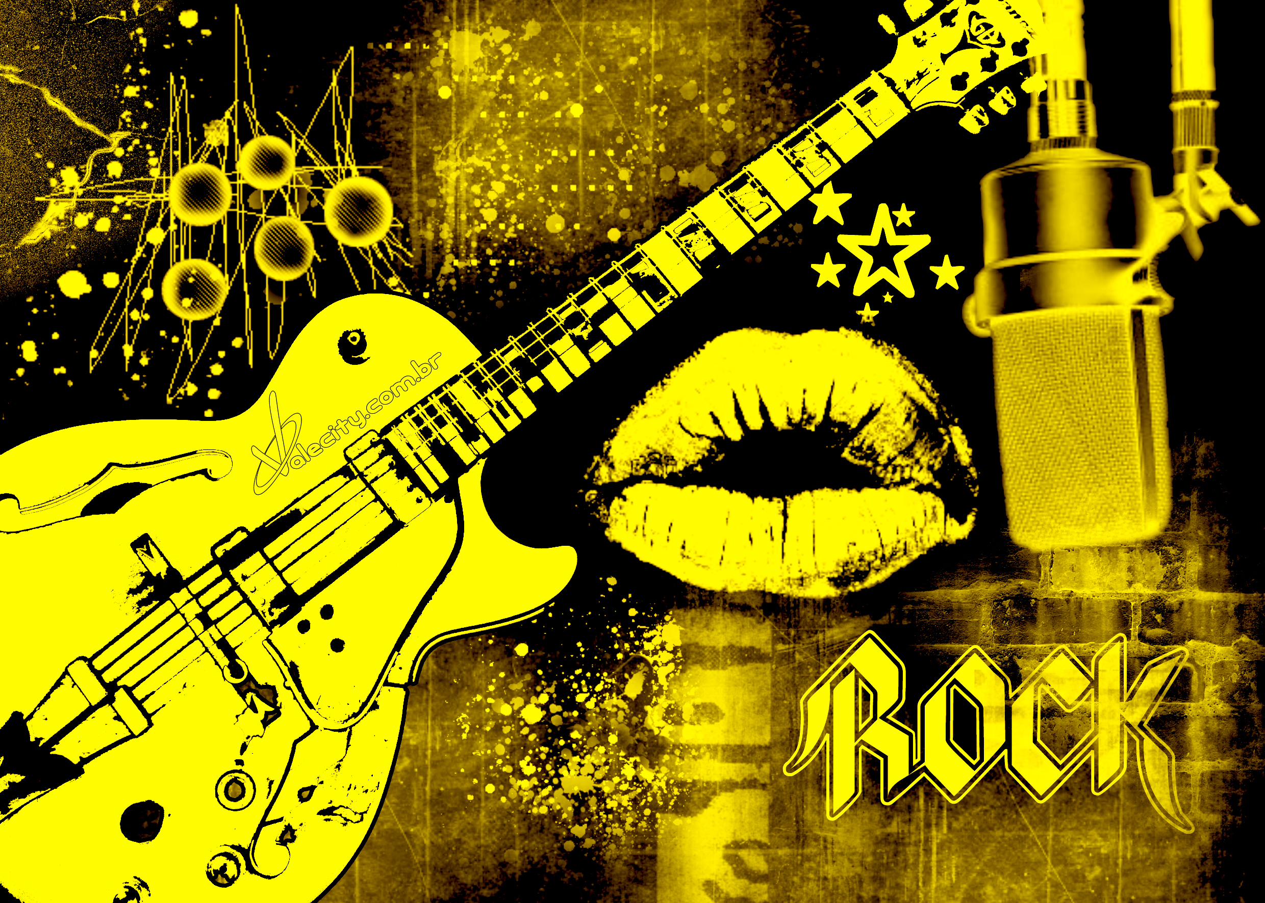 Music Background Images: Rock HD Wallpaper