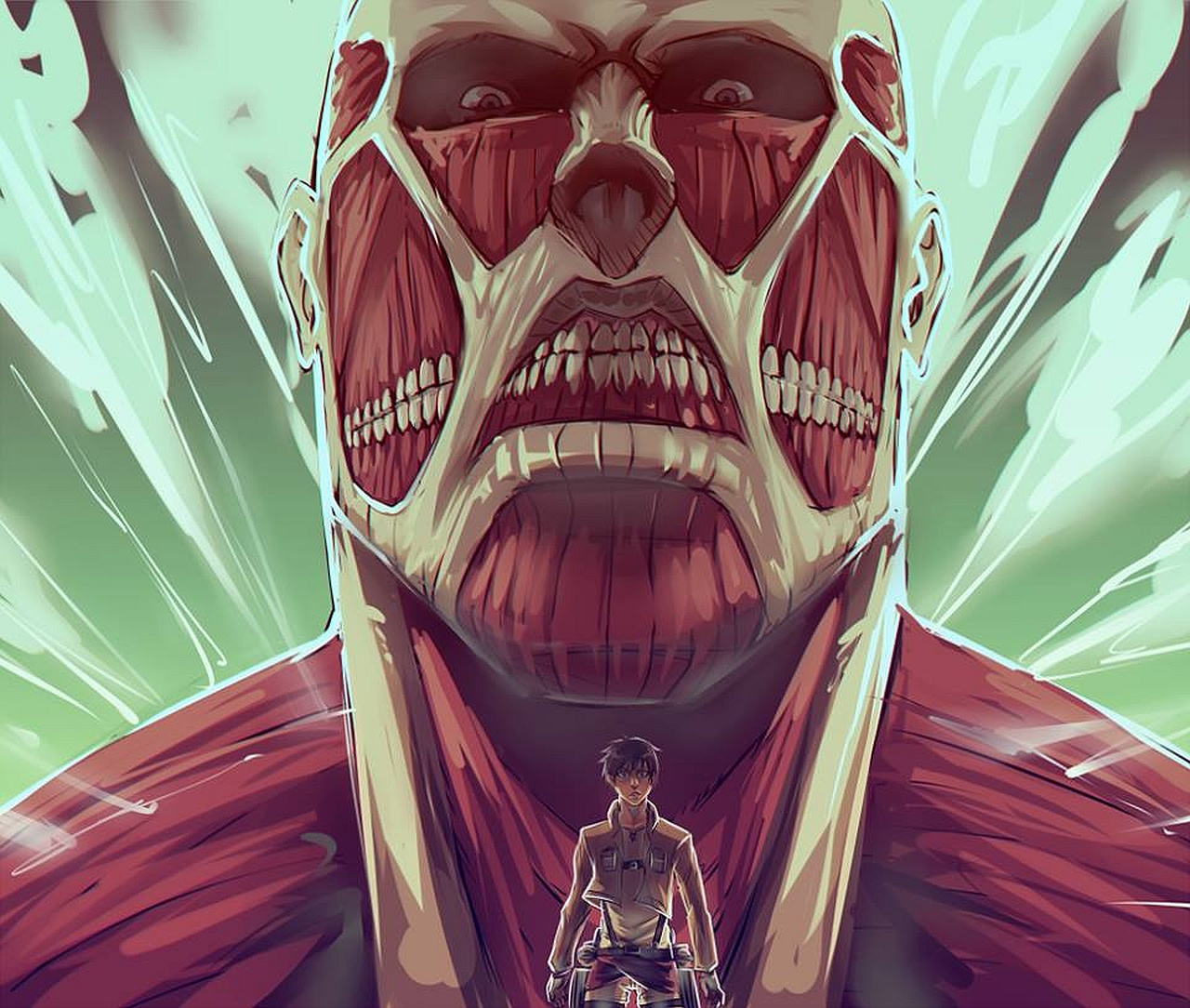 Attack On Titan Wallpaper and Background | 1280x1084 | ID ...
