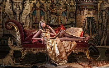 Vrouwen - Cleopatra Wallpapers and Backgrounds ID : 438016