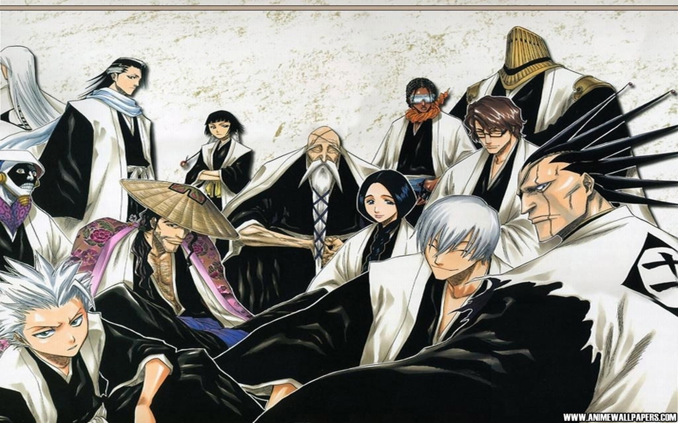 Captains Gotei 13 Full HD Wallpaper and Background ...