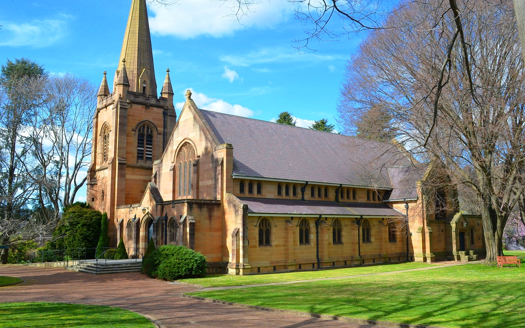 A Church In Lithgow NSW Wallpaper And Background Image