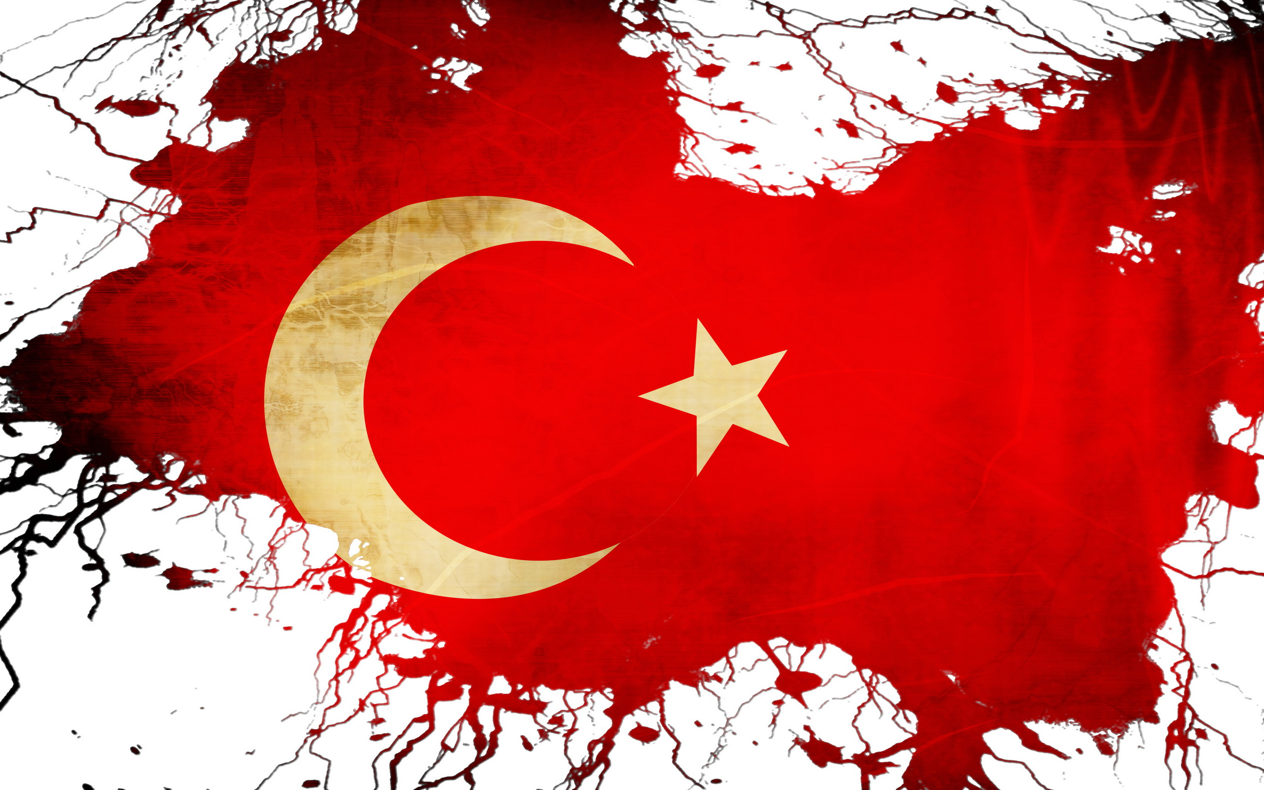 Flag Of Turkey Full HD Wallpaper And Background Image