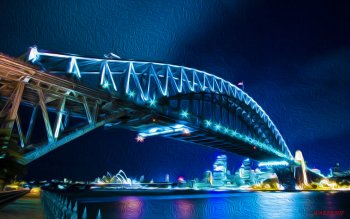 Man Made - Sydney Harbour Bridge Wallpapers and Backgrounds ID : 441815