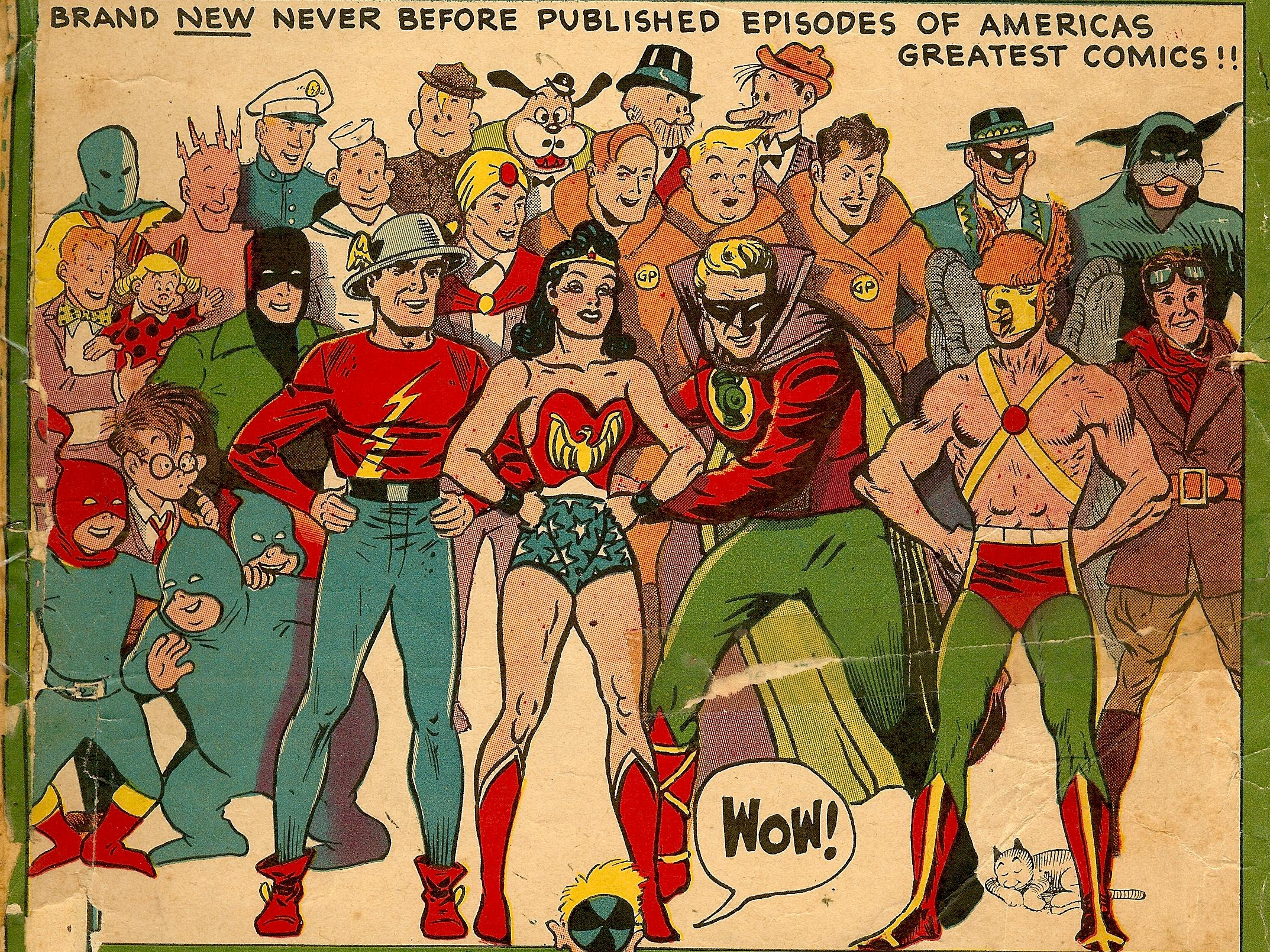 1 The Big All American Comic Book HD Wallpapers