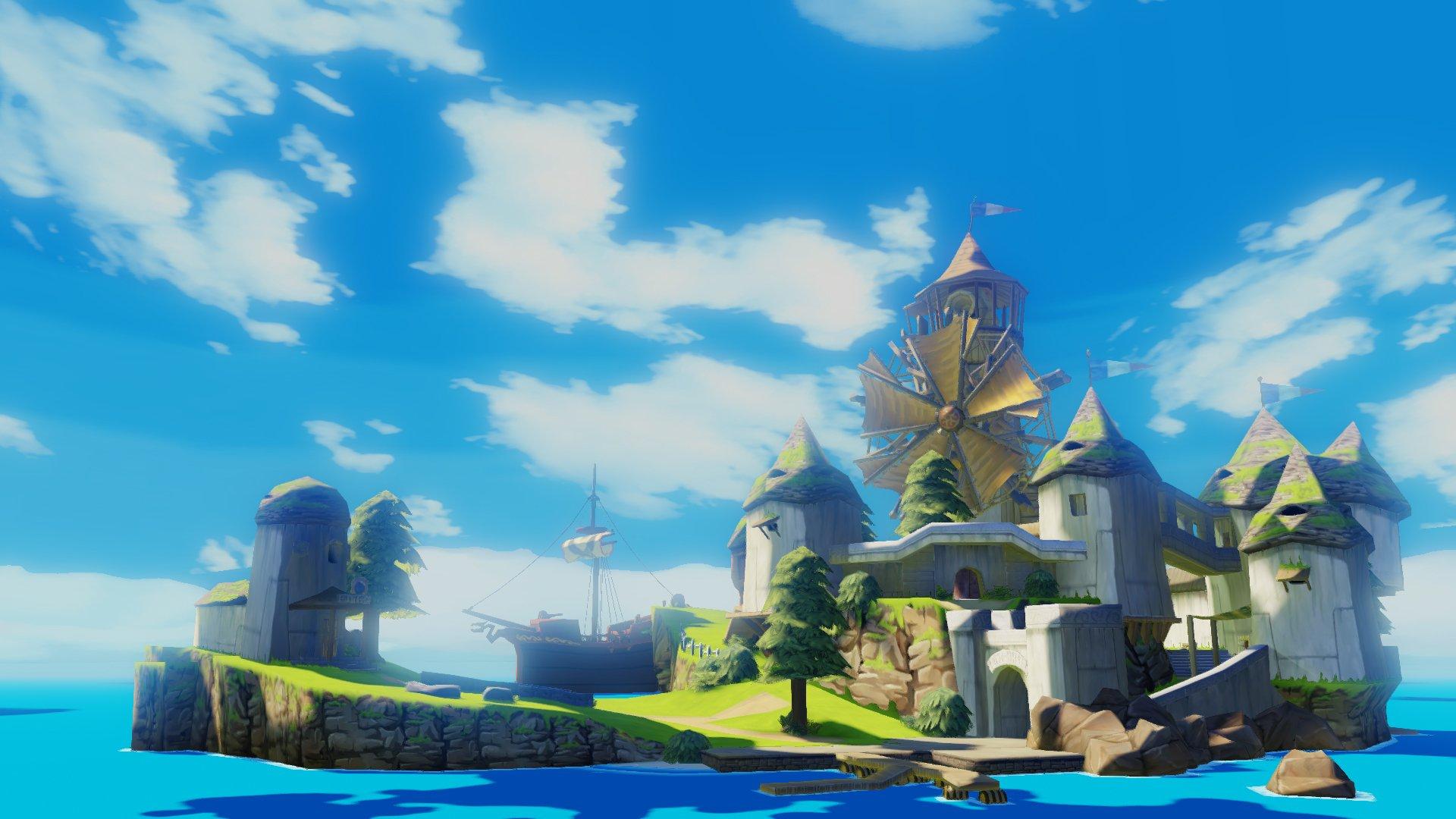 The Legend Of Zelda The Wind Waker Hd Hd Wallpaper Background