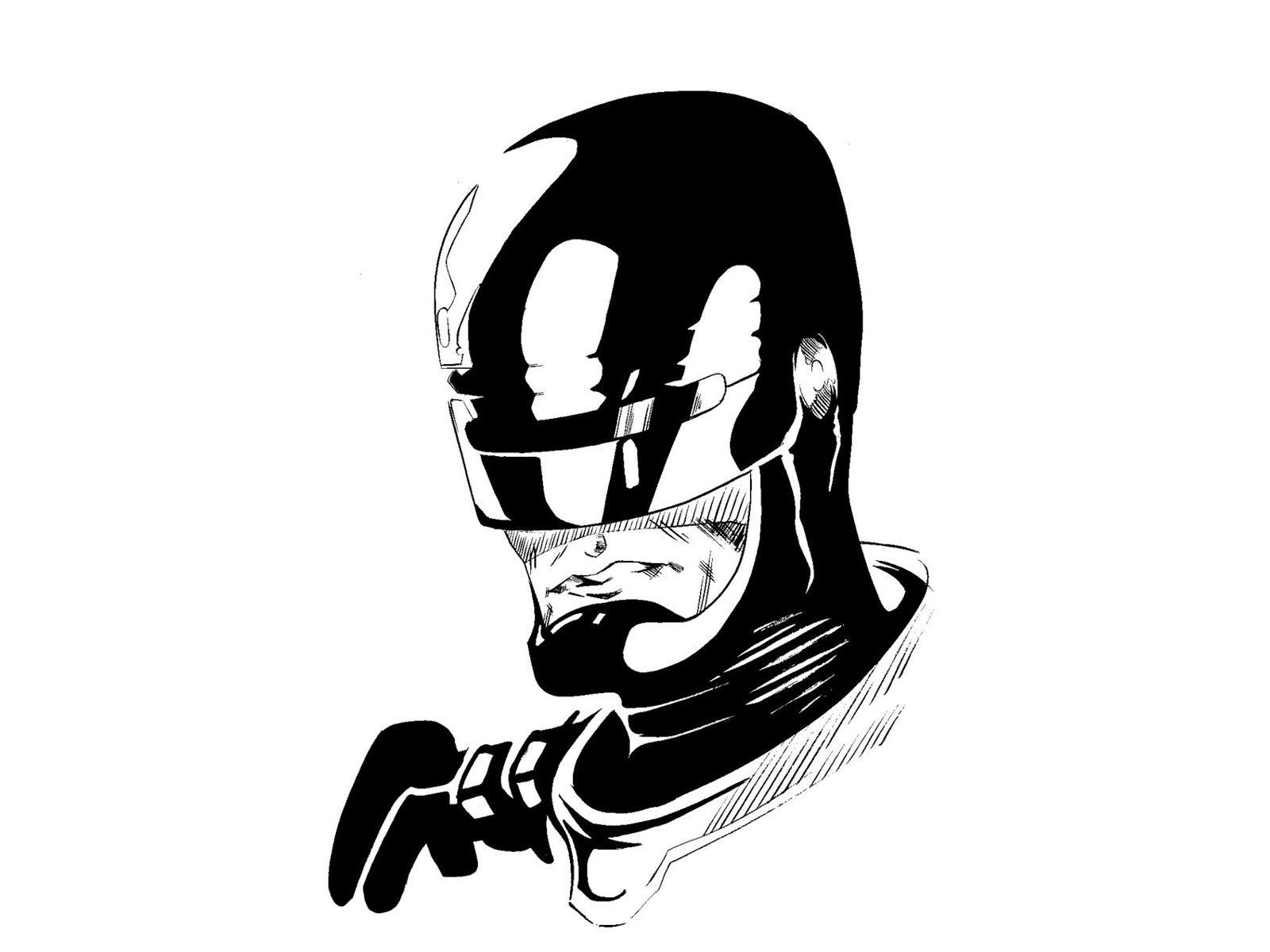 robocop wallpaper and background image | 1600x1200 | id:444055