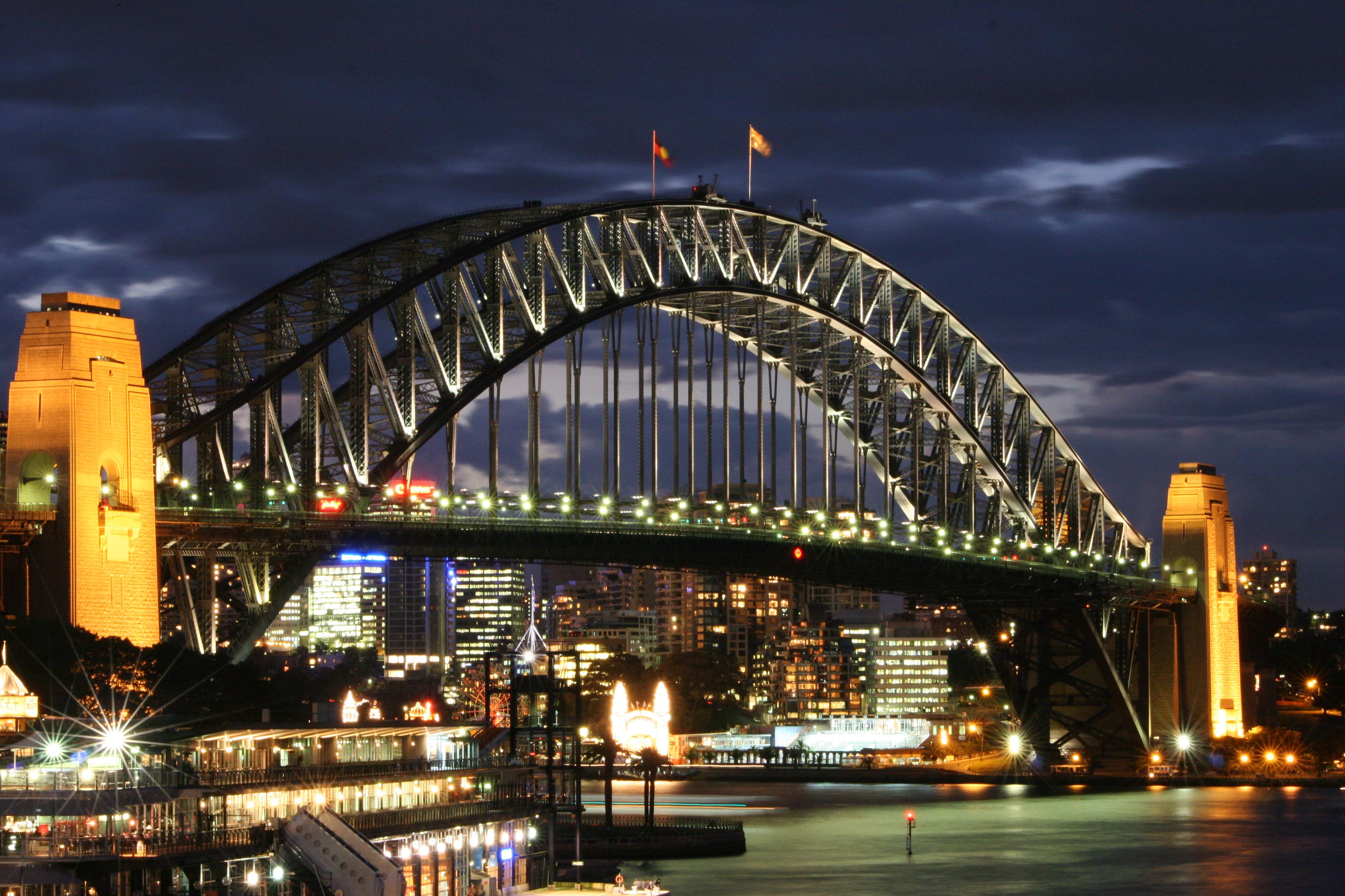 Sydney Harbour Bridge Hd Wallpaper Background Image 3504x2336