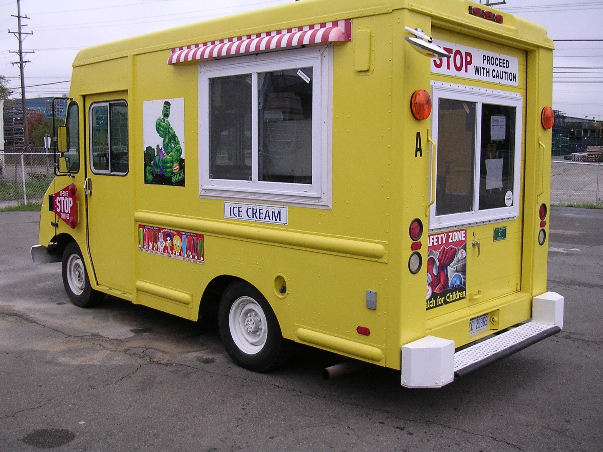 e0cc488fed Ice Cream Truck HD Wallpaper
