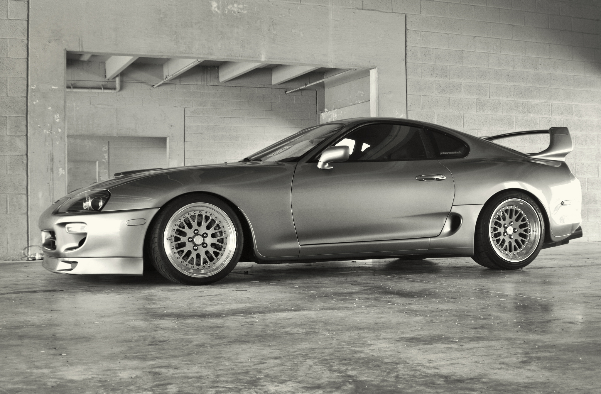 Toyota Supra Full Hd Wallpaper And Background Image