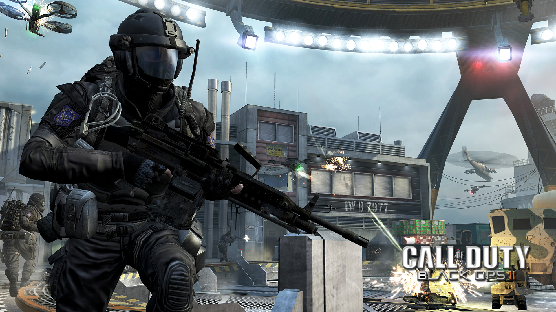 Call Of Duty: Black Ops II Full HD Papel De Parede And
