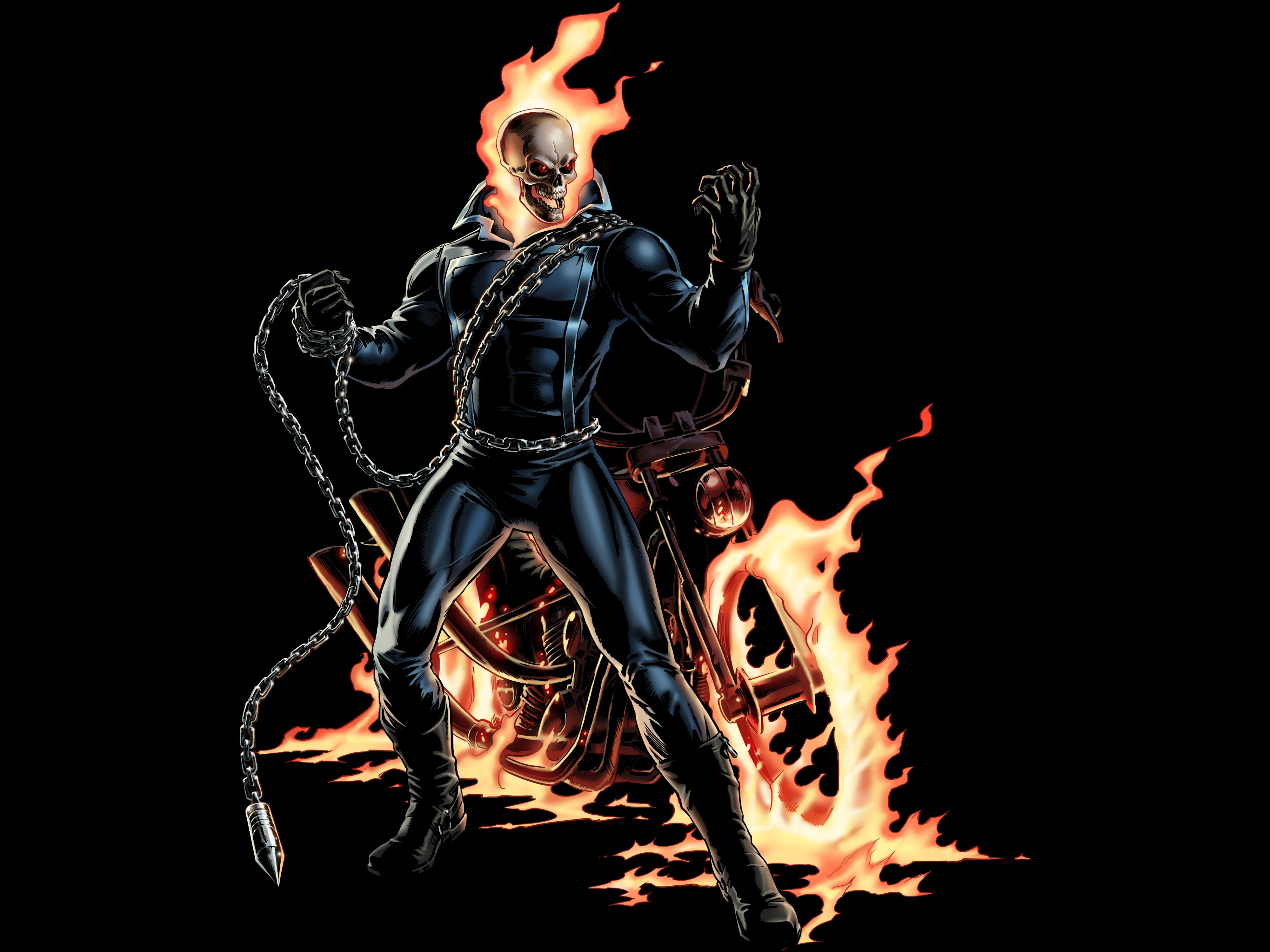 26 4k ultra hd ghost rider wallpapers | background images