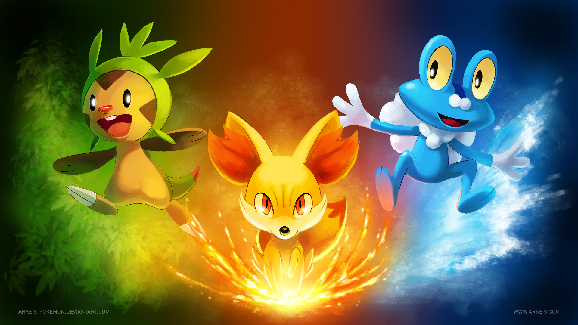 6 Pokemon X/Y HD Wallpapers | Backgrounds - Wallpaper Abyss