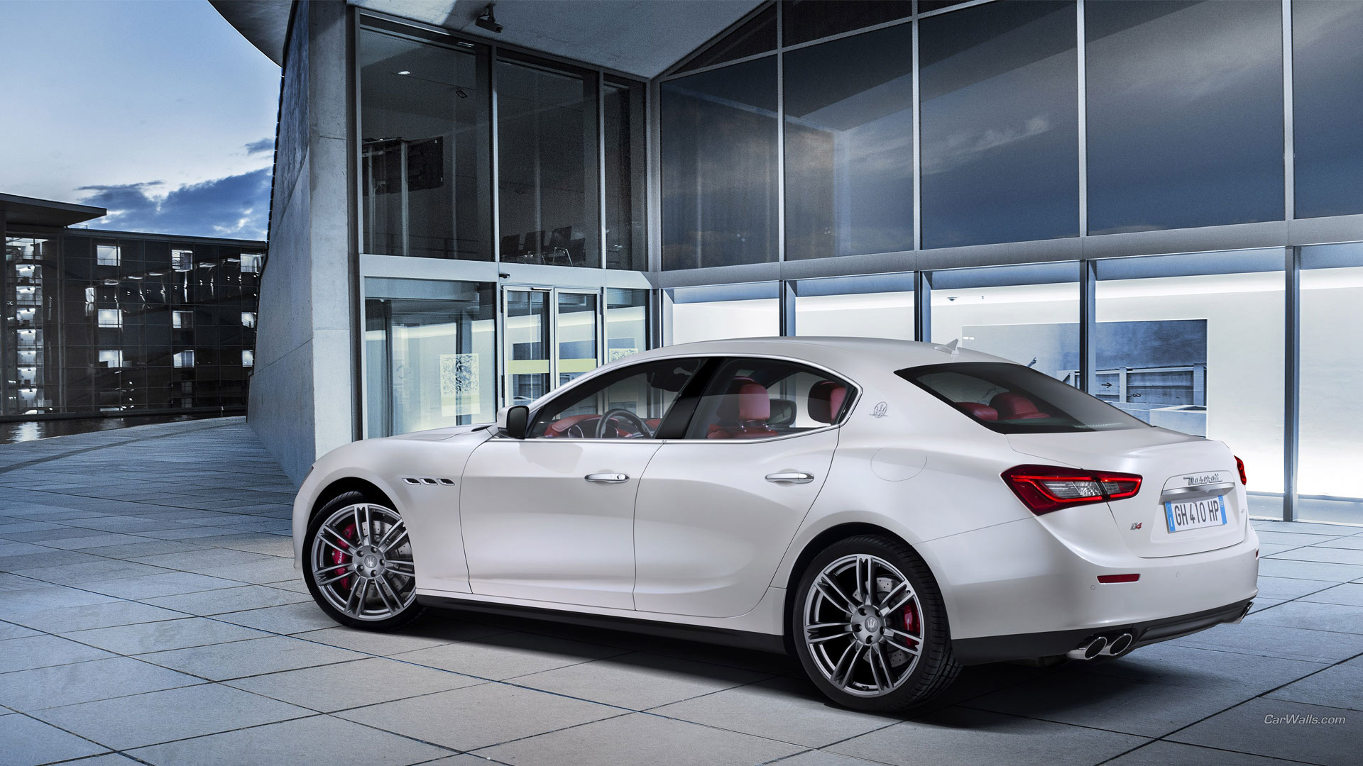 Maserati Ghibli Full HD Wallpaper and Background ...