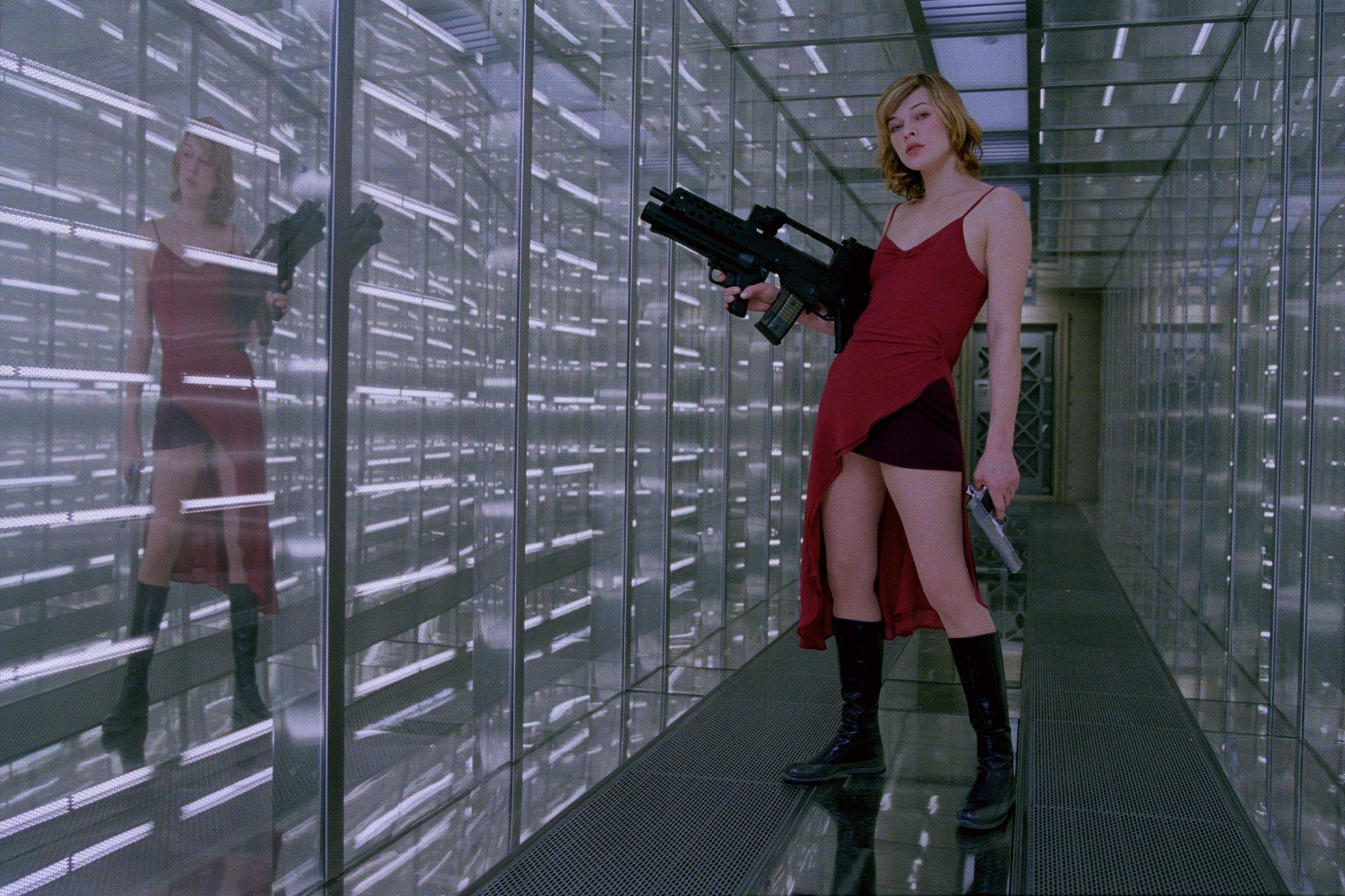 Movie - Resident Evil  Milla Jovovich Wallpaper
