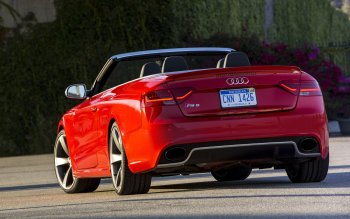 Vehicles - 2014 Audi RS5 Cabriolet Wallpapers and Backgrounds ID : 450565