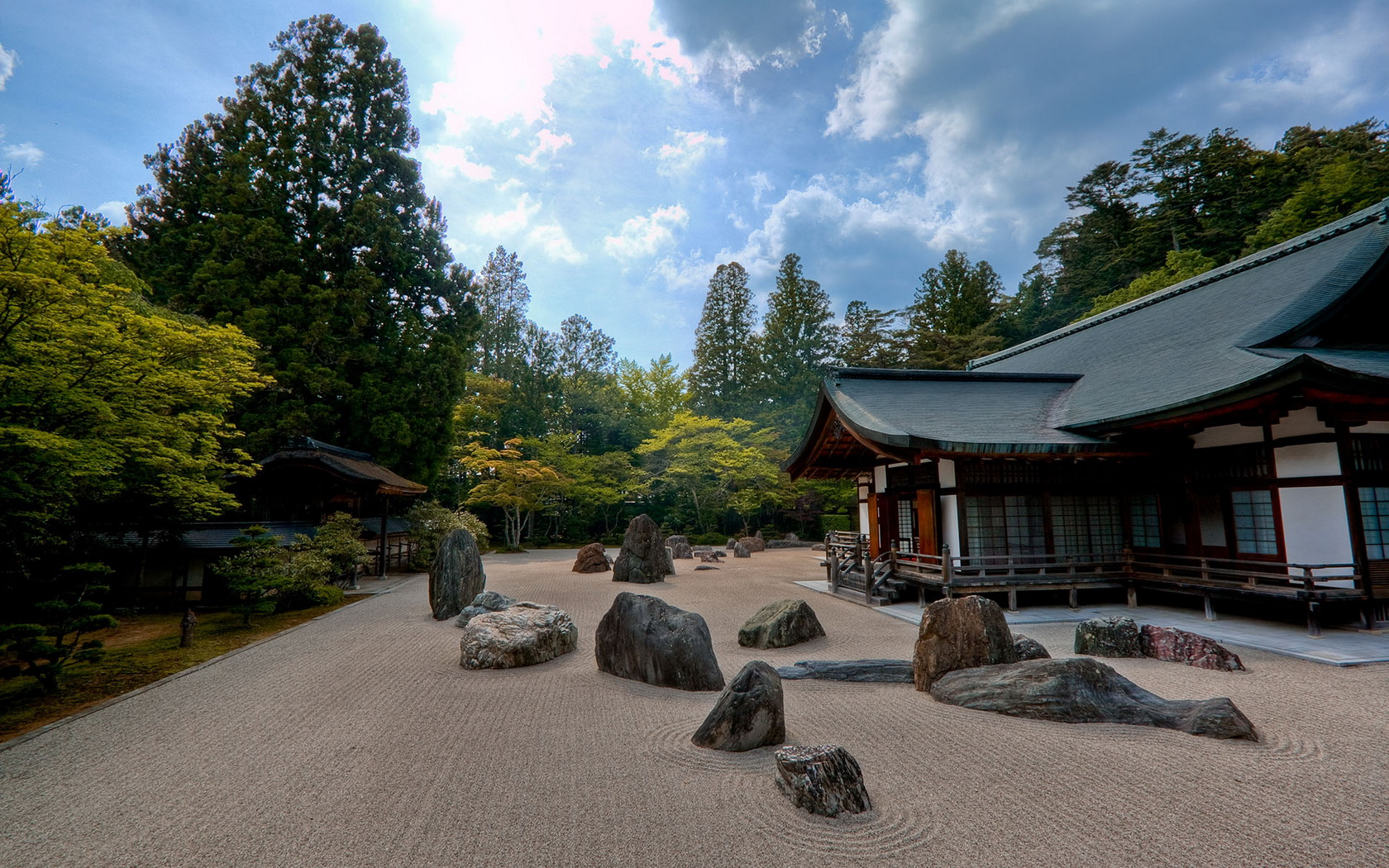 Japanese Garden Wallpaper and Background 1680x1050 ID452961