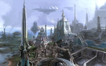Fantasy - Großstadt Wallpapers and Backgrounds ID : 452837