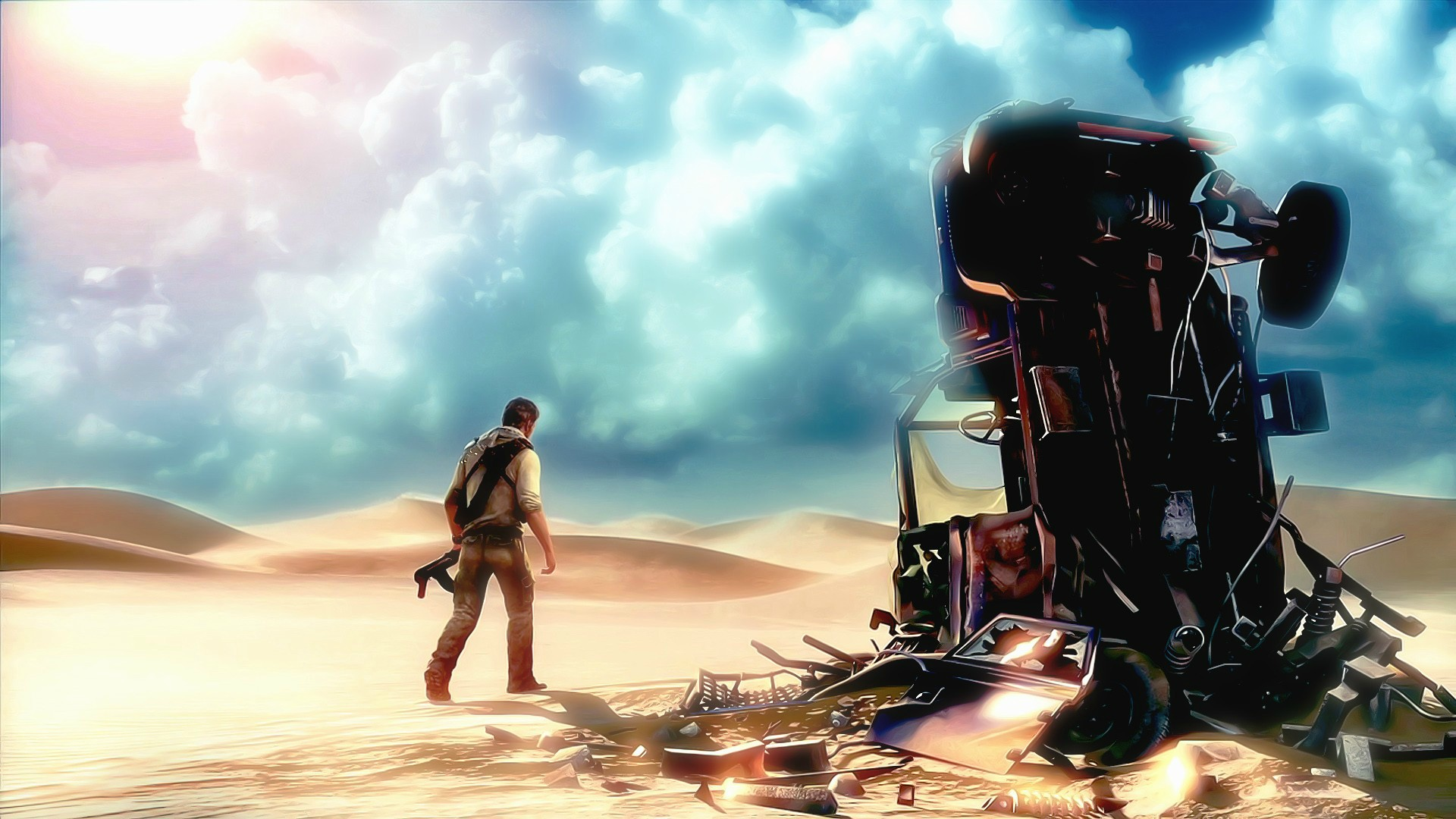 Uncharted 3: Drake's Deception Full HD Wallpaper and ... Uncharted 3 Drakes Deception Wallpaper