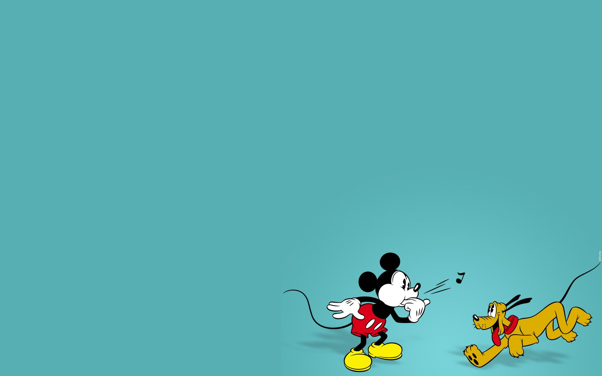 Mickey And Pluto Hd Wallpaper Background Image 1920x1200 Id