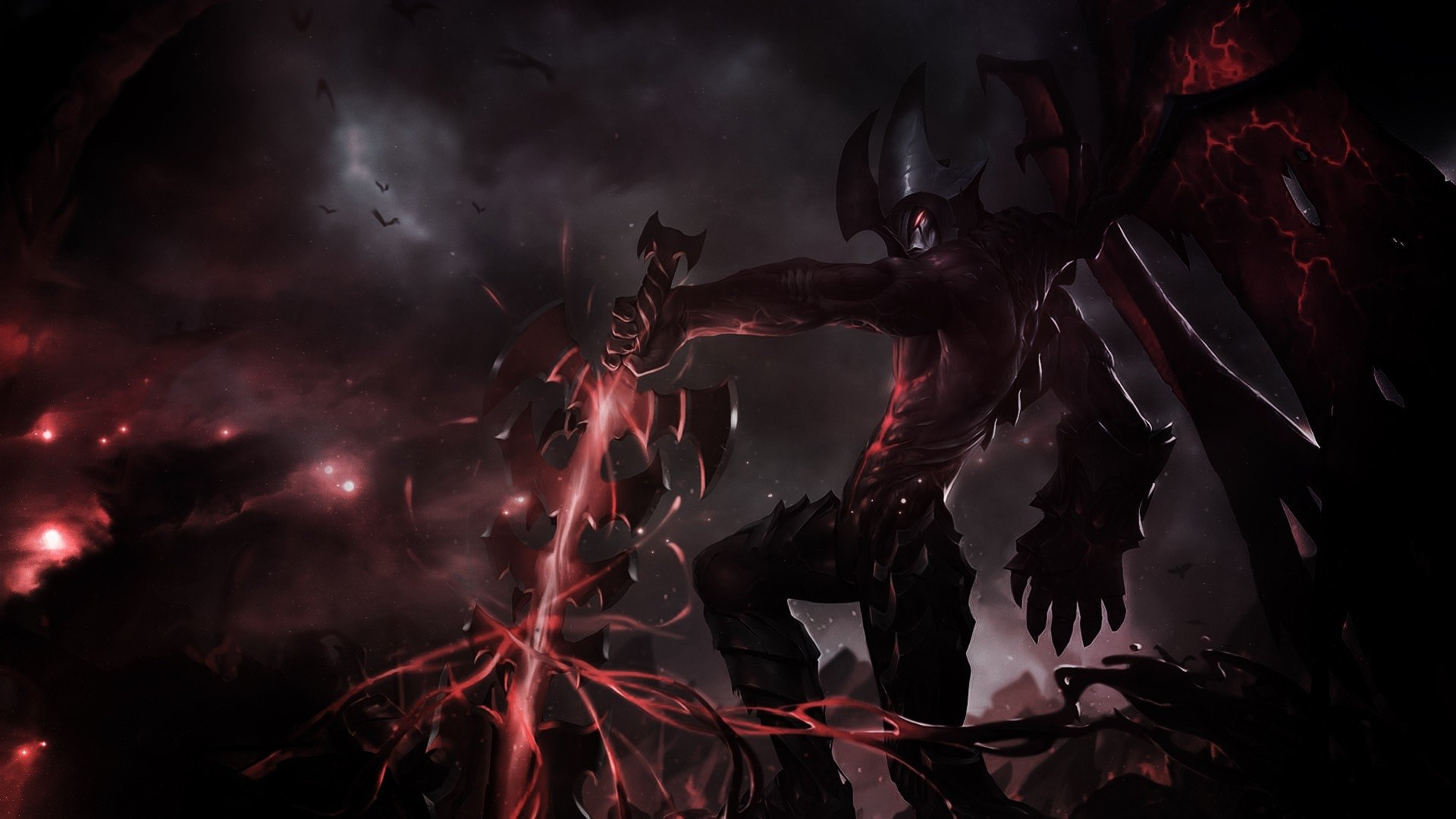 18 Aatrox League Of Legends Hd Wallpapers Background Images