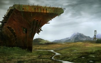Научная фантастика - Post Apocalyptic Wallpapers and Backgrounds ID : 453012